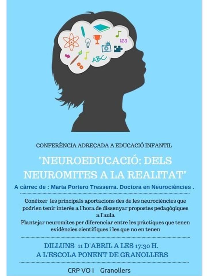 cartell conferència