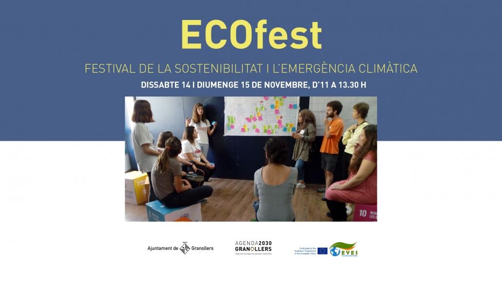 ECOFest, primer festival de la sostenibilitat i l'emergència climàtica de Granollers