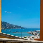 vista panoràmica del mar Mediterrani